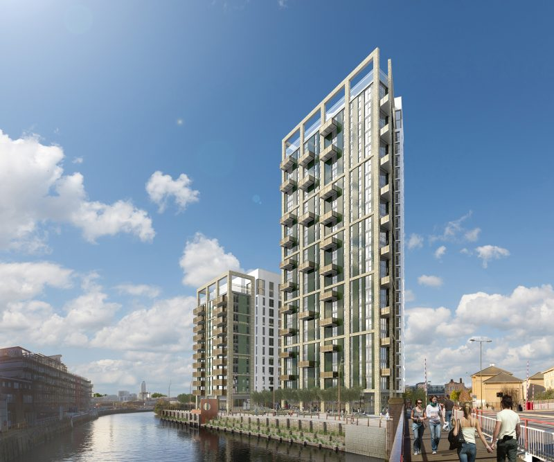 Creekside Wharf Speeds Forward Utilising MMC