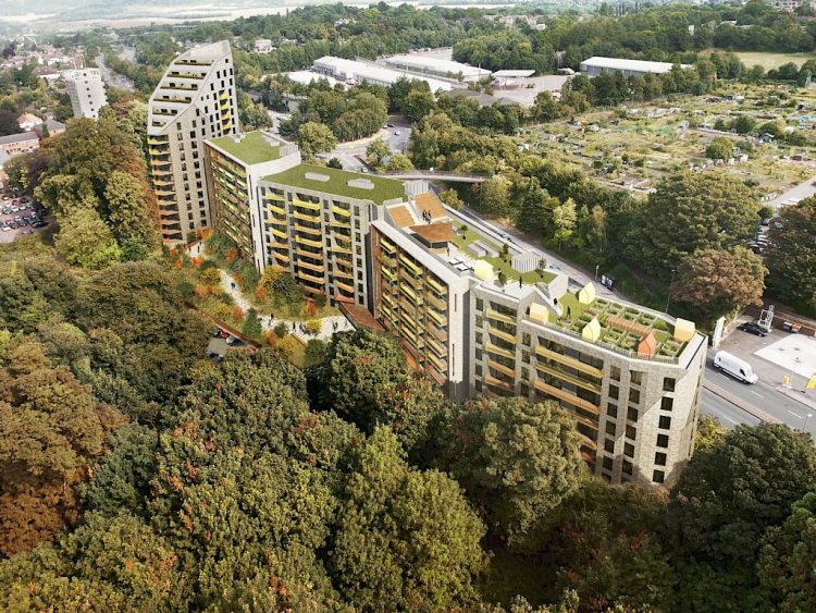 A Stunning New Development Of 502 Apartments Overlooking