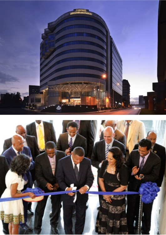Marriott Executive Apartments In Addis Ababa Grand Opening